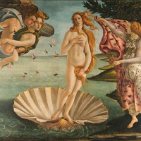 Birth of Venus (c.1486), by Sandro Botticelli